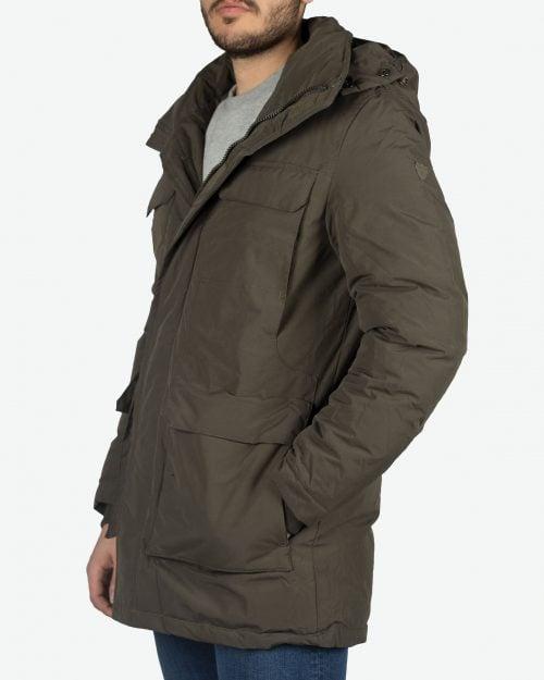 کاپشن چهار جیب مردانه - سبز ارتشی - سهرخ - خرید اینترنتی لباس - فروشگاه اینترنتی لباس سارابارا