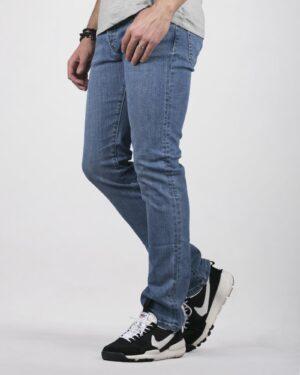 شلوار جین جذب مردانه آبی - آبی - سه رخ
