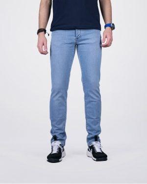 شلوار جین راسته مردانه آبی روشن - آبی روشن - رو به رو