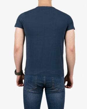 تیشرت آستین کوتاه با طرح برفکی کانی راش - سرمهای - پشت