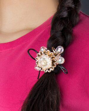 کش موی گلدار - جزییات