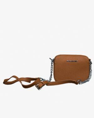 کیف دوشی اسپرت-رسمی زنانه - قهوهای - روبهرو