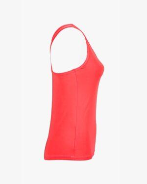 تاپ زنانه دوبنده یقه گرد - قرمز - بغل - خرید اینترنتی لباس - فروشگاه اینترنتی لباس سارابارا