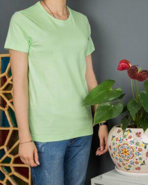 تیشرتهای سادهی نخی پنبهای زنانه - پستهای - محیطی