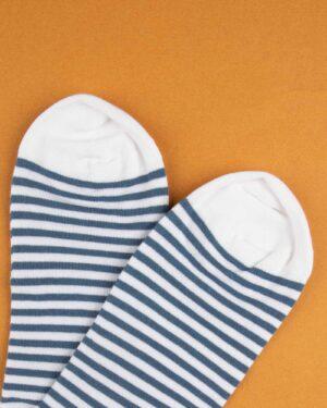 جوراب نخی 2T1- سفید (4)