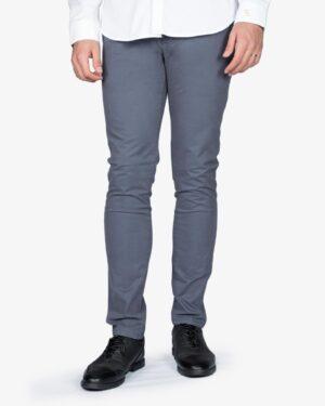شلوار کتان مردانه - سربی تیره - رو به رو - خرید اینترنتی لباس - فروشگاه اینترنتی لباس سارابارا