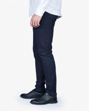 شلوار کتان مردانه - سرمه ای تیره - بغل - خرید اینترنتی لباس - فروشگاه اینترنتی لباس سارابارا