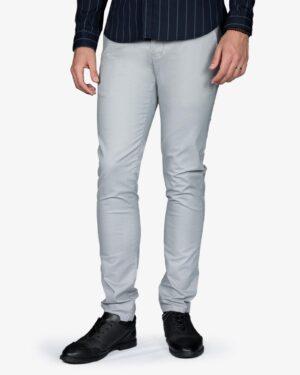شلوار کتان مردانه - طوسی کمرنگ - رو به رو - خرید اینترنتی لباس - فروشگاه اینترنتی لباس سارابارا