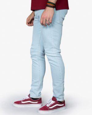 شلوار جین مردانه آبی روشن - آبی روشن - بغل