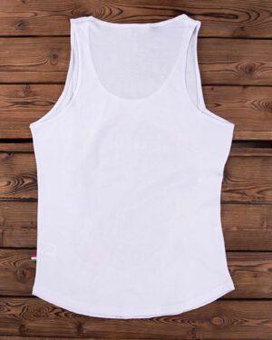 تیشرت سایکو اسکلتی آستین حلقه ای - سفید - پشت