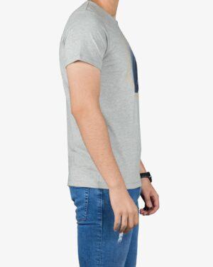 تی شرت آستین کوتاه مردانه کانی راش - ملانژ - بغل