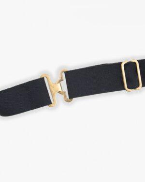 پاپیون طلایی براق مردانه - بند
