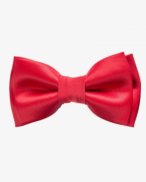 پاپیون مردانه قرمز ساده - قرمز
