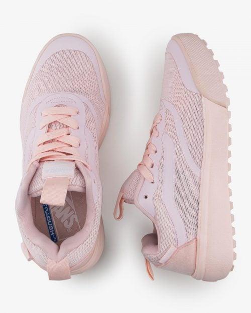 کفش اسپرت صورتی زنانه - هلویی- بالا