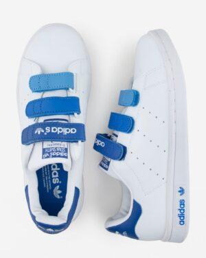 کفش اسپرت طرح آدیداس زنانه - سفید - بالا