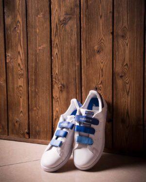 کفش اسپرت طرح آدیداس مردانه - سفید - محیطی