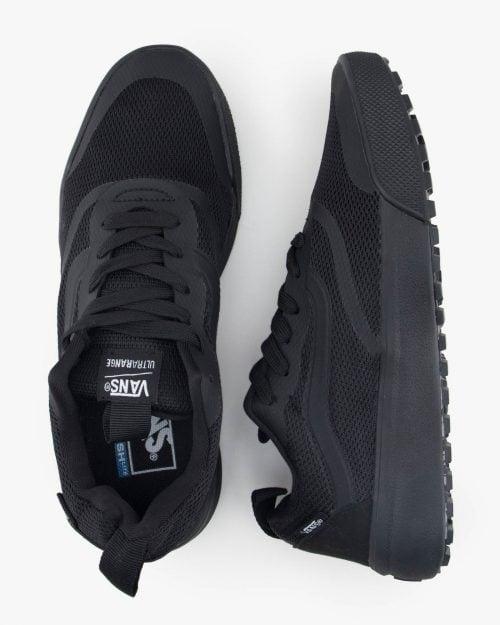 کفش اسپرت مشکی مردانه - مشکی - بالا