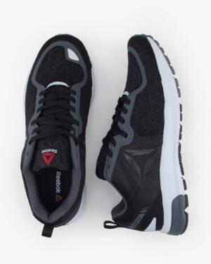 کفش مردانه اسپرت لوگو ریباک - مشکی - بالا