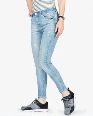 شلوار جین آبی روشن زنانه - آبی روشن - سه رخ