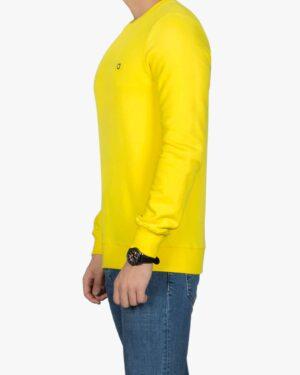 بلوز پنبه ای آستین بلند زرد مردانه - زرد - بغل