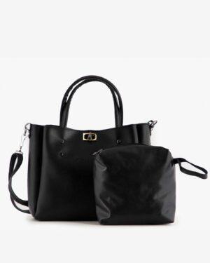 کیف دوشی مشکی زنانه ساده - مشکی - کیف دوشی کیف دستی