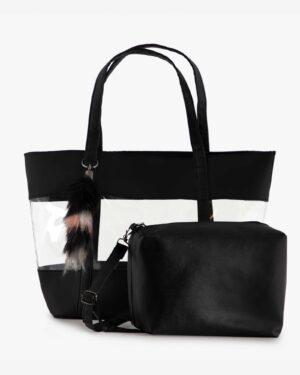 کیف طلقی زنانه دوشی - مشکی - کیف دوشی کیف دستی