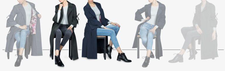 اسلایدر بارانی زنانه - خرید اینترنتی لباس - فروشگاه اینترنتی لباس سارابارا