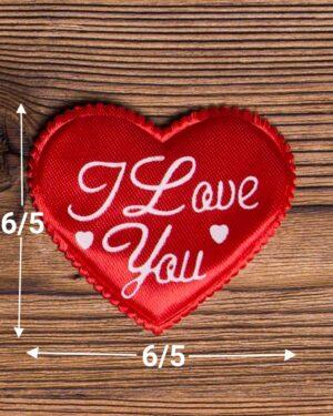 گیفت قلب ولنتاین - قرمز - ابعاد