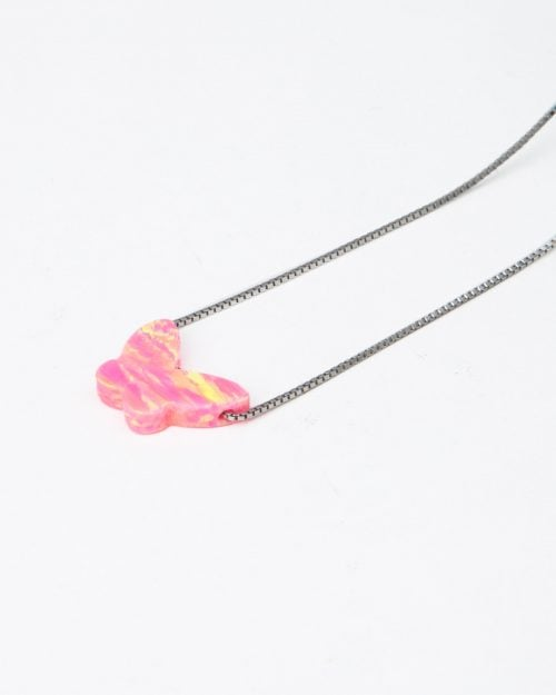گردنبند طرح پروانه زنانه - آویز پروانه