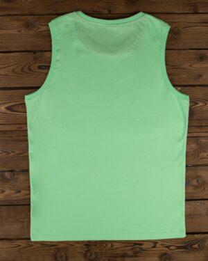 تاپ اسپرت مردانه ساده سبز - فسفری -پشت