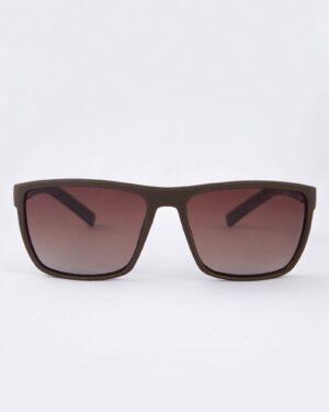 عینک آفتابی طبی مردانه - قهوه ای - رو به رو