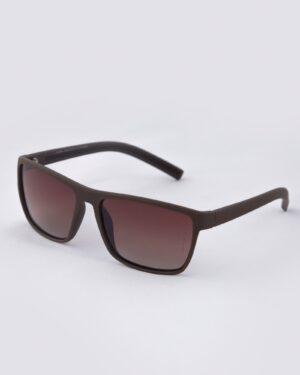 عینک آفتابی طبی مردانه - قهوه ای - مایل