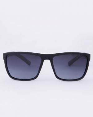 عینک آفتابی طبی مردانه مشکی - زرد - رو به رو
