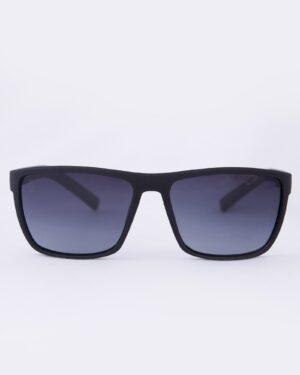 عینک آفتابی طبی مردانه مشکی - طوسی - رو به رو