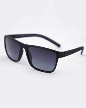 عینک آفتابی طبی مردانه مشکی - طوسی - سه رخ
