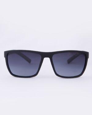 عینک آفتابی طبی مردانه مشکی - قرمز - رو به رو