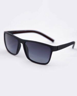 عینک آفتابی طبی مردانه مشکی - قرمز - سه رخ