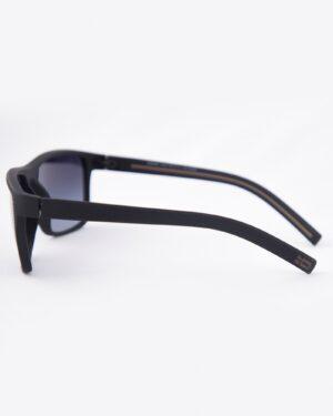 عینک آفتابی طبی مردانه مشکی - قهوه ای - بغل