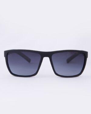 عینک آفتابی طبی مردانه مشکی - قهوه ای - رو به رو