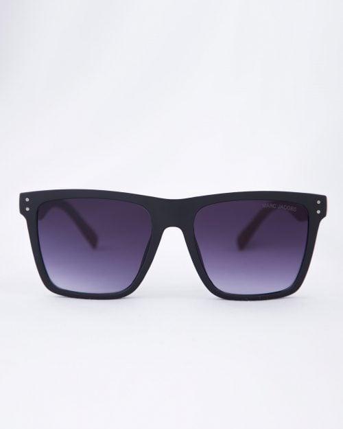 عینک آفتابی فریم بزرگ مردانه - مشکی - رو به رو