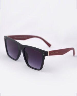 عینک آفتابی فریم بزرگ مردانه - مشکی - سه رخ