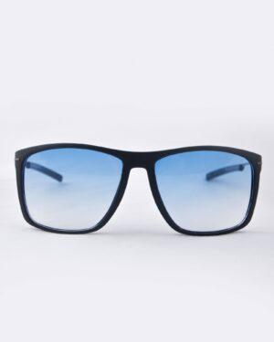 عینک آفتابی مردانه شیشه آبی - سرمه ای - رو به رو