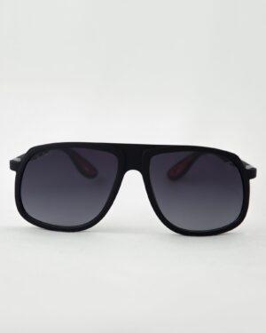 عینک آفتابی مردانه مدل ریبن - مشکی - رو به رو