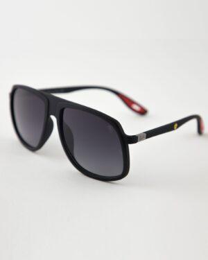 عینک آفتابی مردانه مدل ریبن - مشکی - مایل