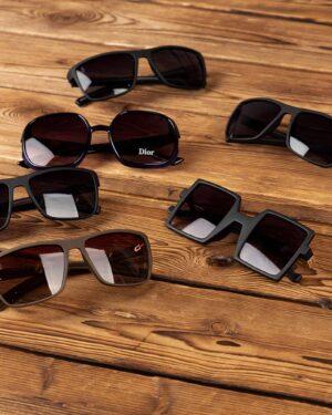 عینک آفتابی پلنگی زنانه-روبرو-محیطی