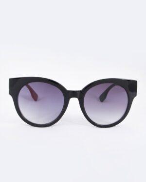 عینک آفتابی گربه ای زنانه مشکی - مشکی - رو به رو