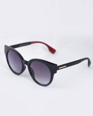 عینک آفتابی گربه ای زنانه مشکی - مشکی - سه رخ