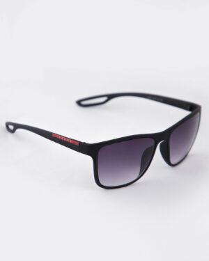 عینک دودی مردانه اسپرت - مشکی - مایل