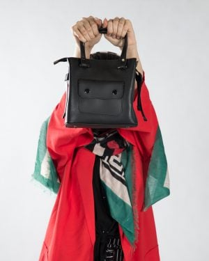 کیف دستی کوچک زنانه اسپرت - مشکی - محیطی