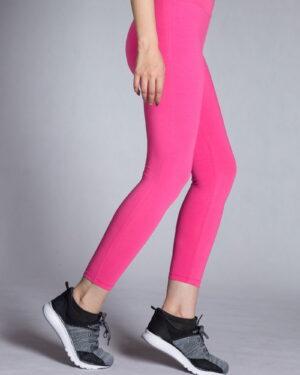 لگ ورزشی زنانه ساده -بغل- ارغوانی روشن -
